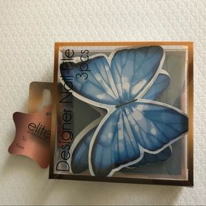 NEW 3 butterfly nail files!